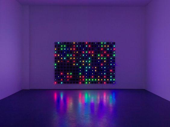 Tatsuo Miyajima – Works   Installation view Buchmann Galerie, 2013